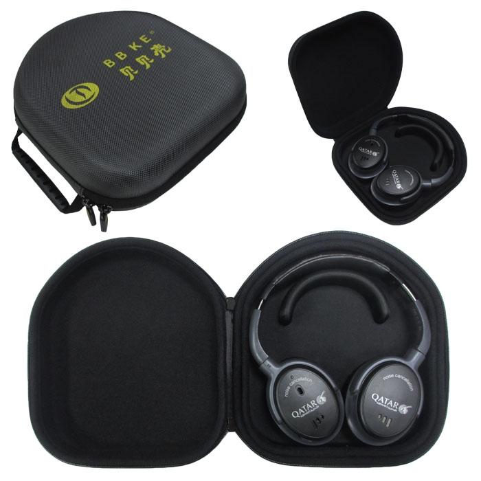 lt-138 黑灰色 EVA耳机包使用效果图